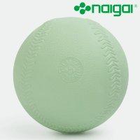 【新商品】ナイガイカラーソフトボール 3号 グリーン 6個 (数量限定)